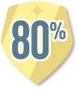 80% feedback achievement
